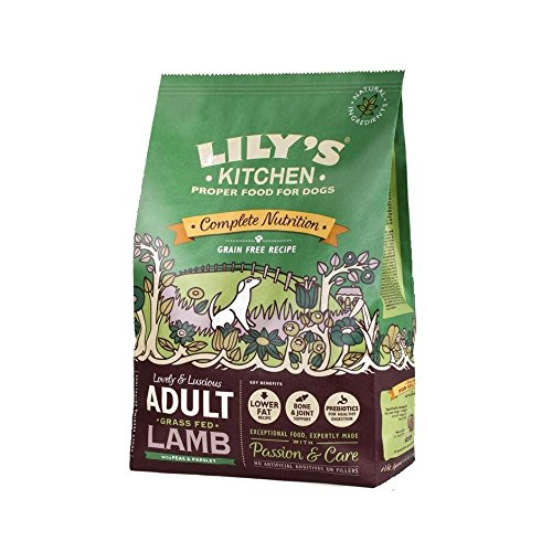 Lily's Kitchen Adult Grass Fed Lamb Grain Free Dry Food for Dogs (2.5 kg) Pack of 6