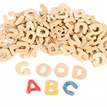 NUOLUX Wooden Letter Alphabet Set Kid Learning Toy