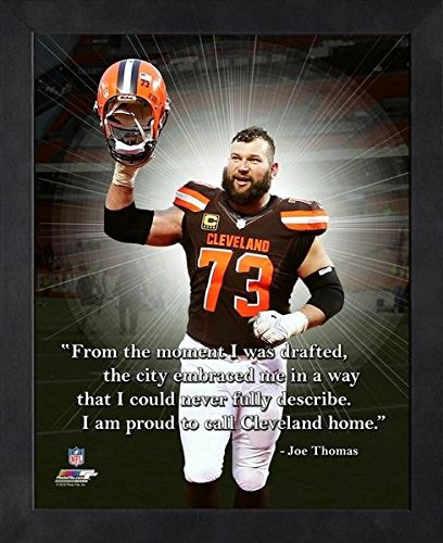 Joe Thomas Cleveland Browns ProQuotes Photo (Size: 9