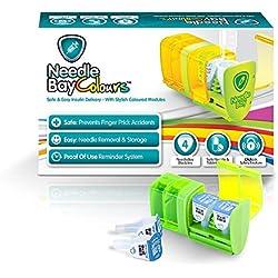 NeedleBay Colors 4 Diabetes Medication System, 7.6 Ounce