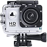 Fabal Mini 1080P Full HD DV Sports Recorder Car Waterproof Action Camera Camcorder (Sliver)