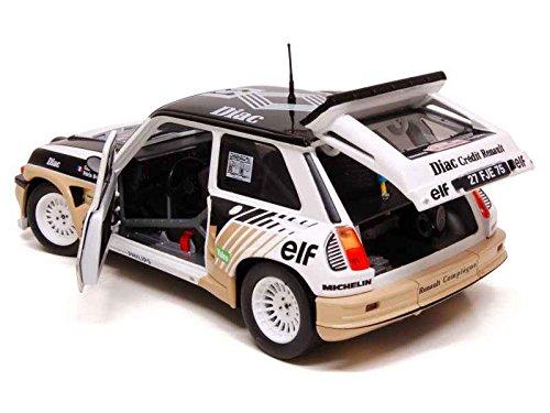 Générique Set of 4 Cars Renault 5 Maxi Turbo Rally 1986 1/18 Solido: Amazon.es: Juguetes y juegos