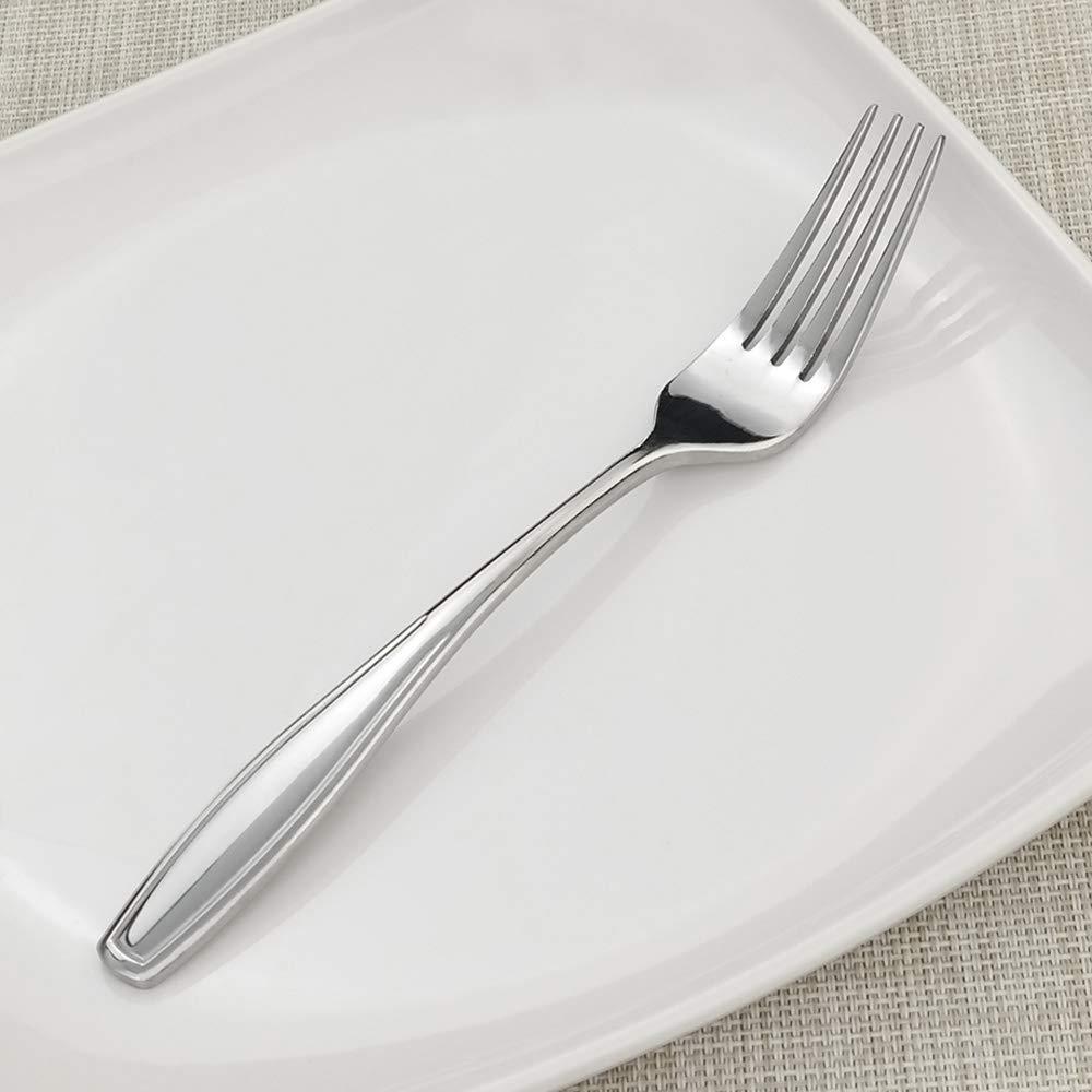 20 cm Stainless Steel Steak Forks Annkky 12 Pieces Dinner Forks Cutlery Table Forks Set