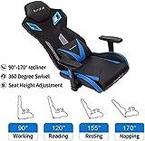 AutoFull Gaming Chair - Video Game Chairs Mesh