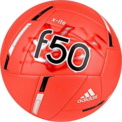 adidas Unisex F50 X-ITE Solar Red/White/Black Soccer Equipment 3 -
