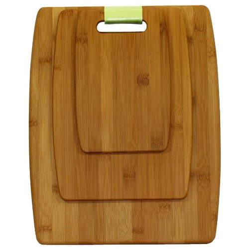 Oceanstar CB1156 3-Piece Set Bamboo Cutting Board Set by Oceanstar