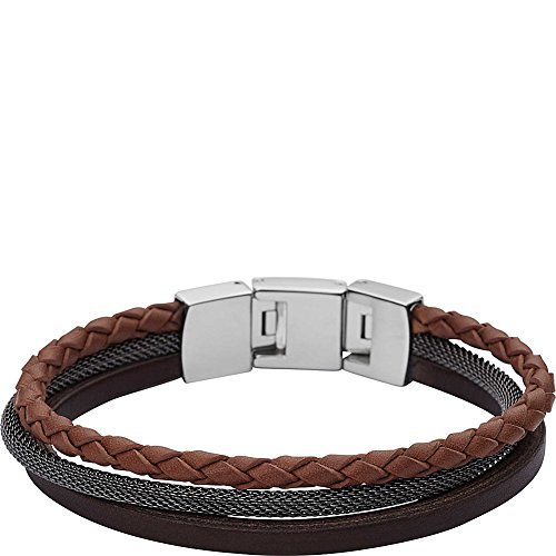Fossil Men's Retro Pilot Multi-Strand Bangle Bracelet