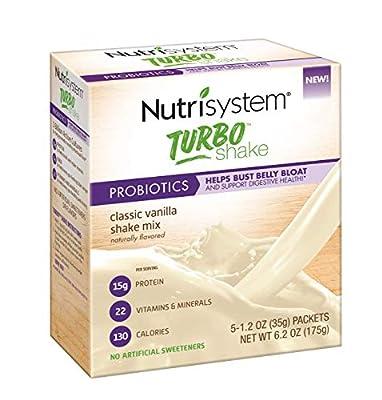 Nutrisystem® Turbo Shake Mix Powder, Vanilla 20 Count