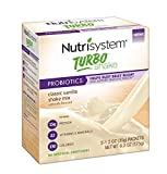 Nutrisystem Turbo Shake Mix Powder, Vanilla 20 Count