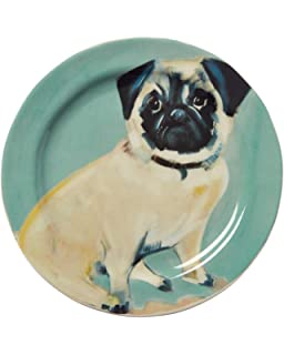 Anthropologie Dog A Day Dessert Plate~Sally Muir~Chihuahua~New!