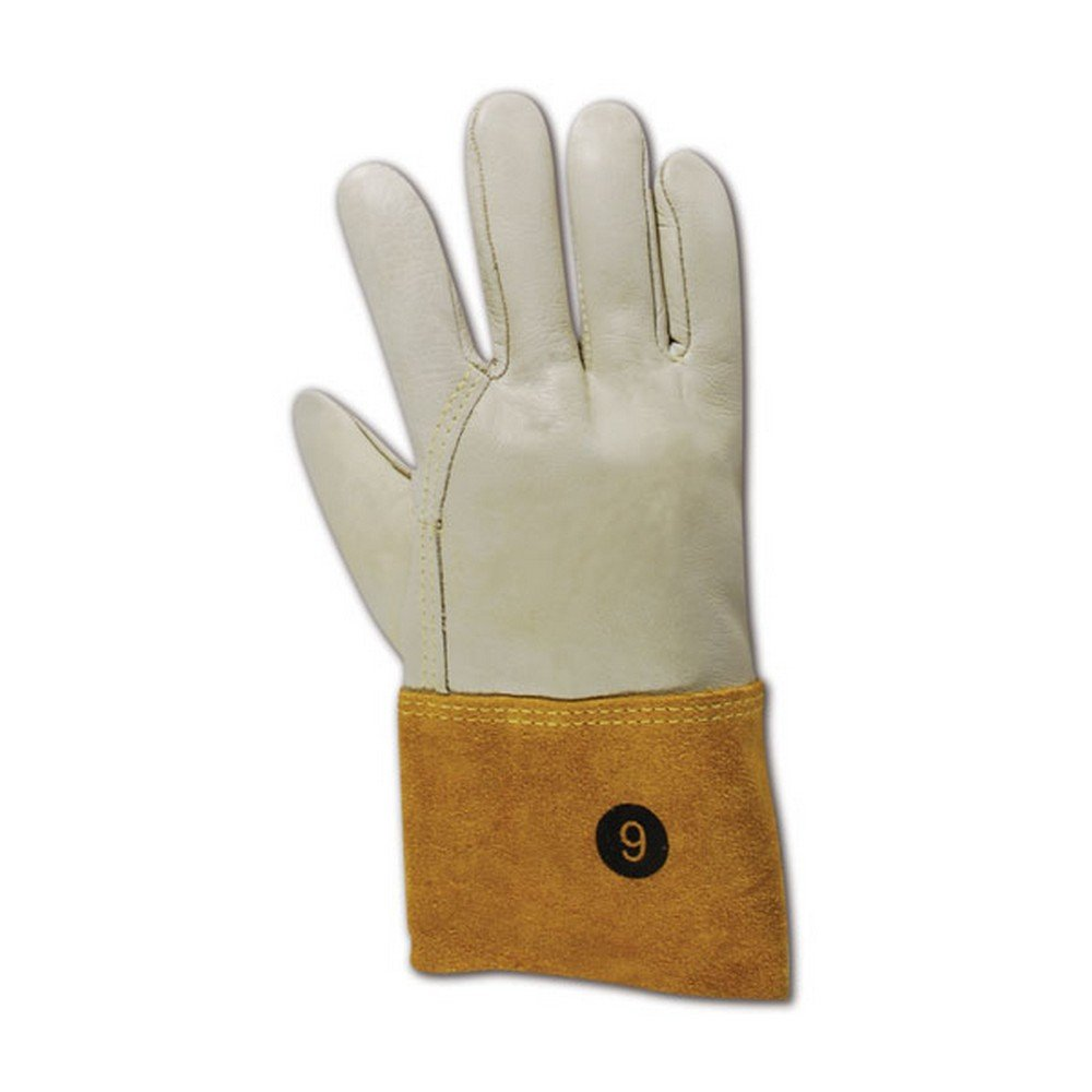 Magid Glove & Safety T6573GKEV-12 Magid DuraMaster T6573GKEV Unlined Standard Cow Grain Full Leather, 8, Tan , 12 (Pack of 12)