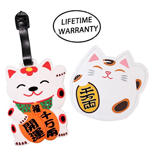 DIYJewelryDepot 1 Pc. Japanese Fortune Lucky Cat Maneki-Neko
