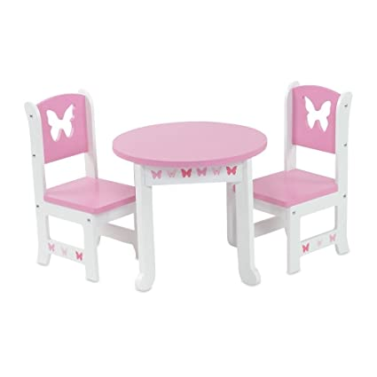Amazon.com: 18 inch Doll furniture | Lovely Rosa y Blanco ...