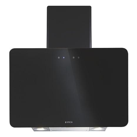 Elica 60 cm 1220 m3/hr Chimney (KITTY ETB HE LTW 60 BK TC4V LED, 1 Cassette Filter, Touch Control, Black)