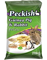 Peckish Guinea Pig and Rabbit Pellets, 20kg