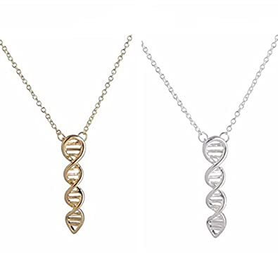 pendant dna necklace