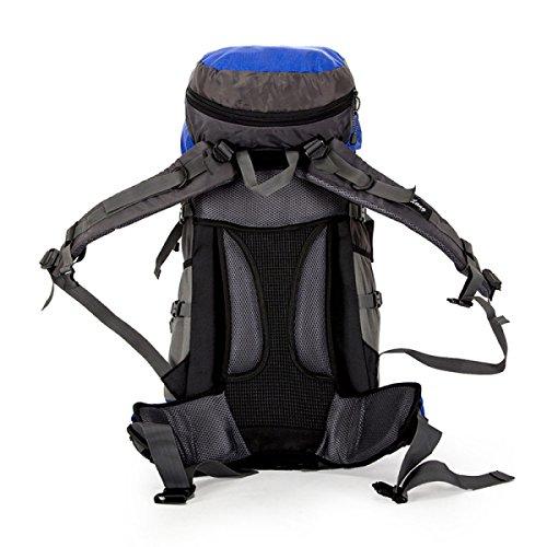 TUOZA Para Hombre Caminatas Al Aire Libre Respirable Mochila De Viaje Duradero,Blue1-OneSize Blue