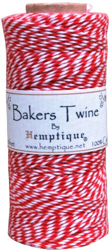 Red Baker's Twine Spool