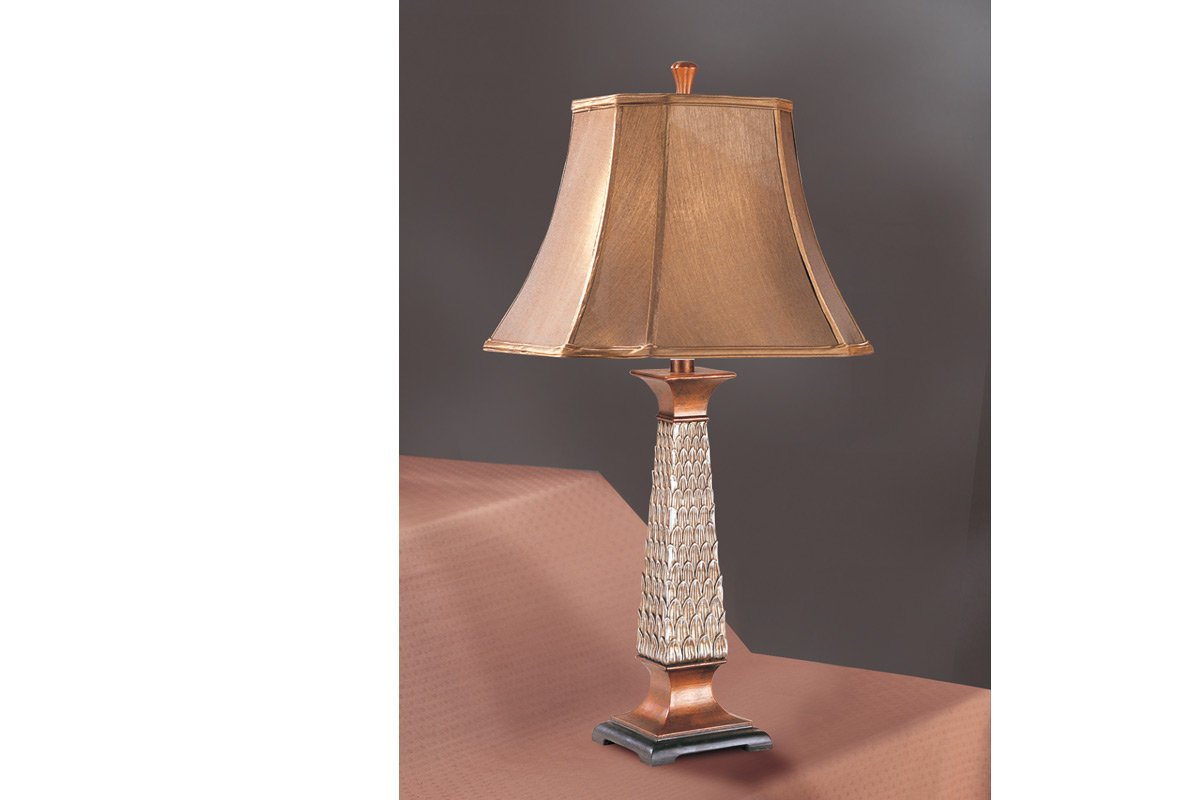 Bronze Style House Room Table Lamp, Set of 2