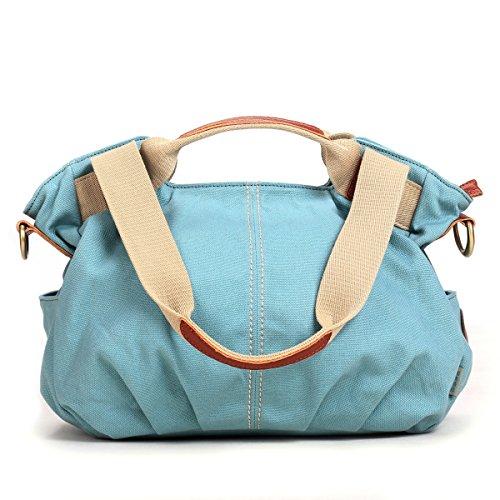 Women high quality shoulder shopping bags medium handbags (Black) - 4
