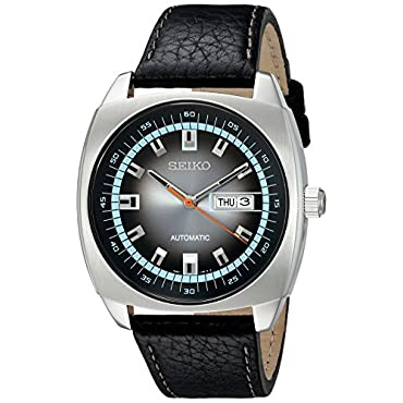 Seiko Men's SNKN01 Analog Display Japanese Automatic Black Watch