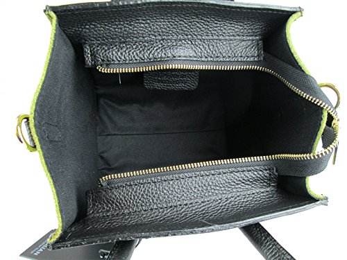 Borsa vera pelle Made in Italy con tracolla FG little Celin