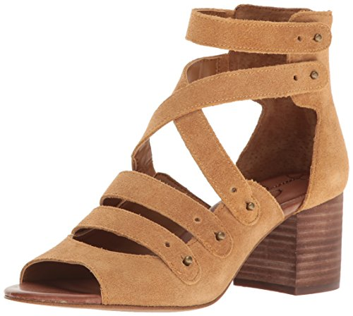 Jessica Simpson Women's Halacie Dress Sandal Honey Brown u20TVdbi