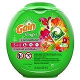 Gain Flings Tropical Sunrise Laundry Detergent, 72 Count