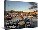 Wall Art Print entitled Los Cristianos. Tenerife. Canary Islands. Spain by Design Pics | 48 x 32