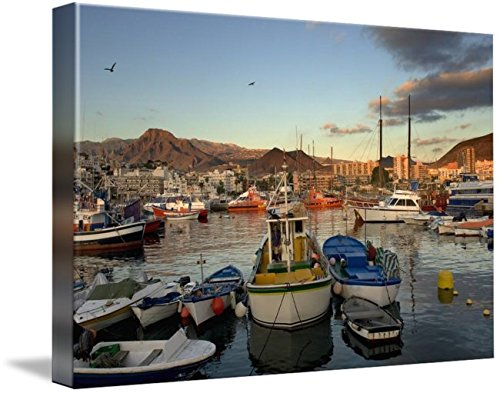 Wall Art Print entitled Los Cristianos. Tenerife. Canary Islands. Spain by Design Pics | 48 x 32 by Imagekind