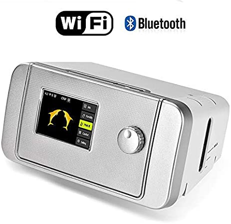 iBreath New Portable CPAP Machine with Mask Humidifier For