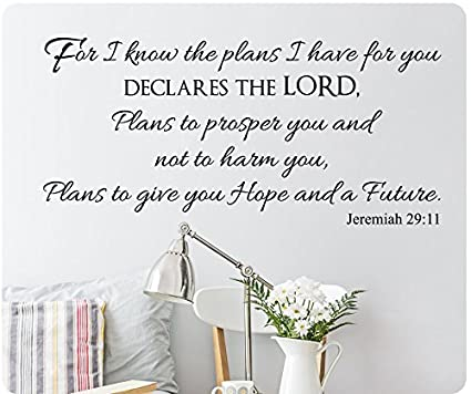 Amazoncom 48 For I Know The Plans I Have For You Declares The