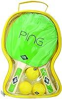 Donic-Schildkröt Ping Pong 2 Spieler in Tragetasche, 788486 Tischtennis Set,...