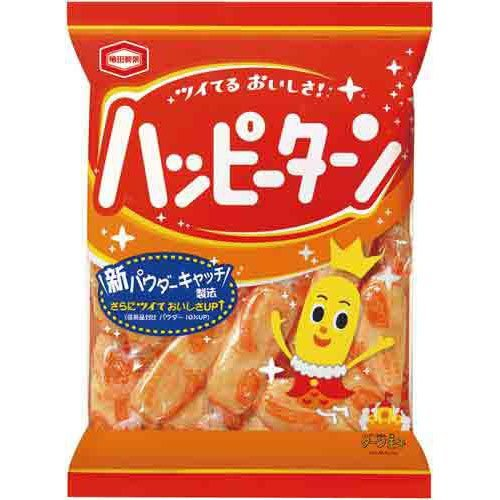 Kameda Seika Happy Turn, Japanese Rice Cake, 4.2oz/bag X 3bags [Japan Import]