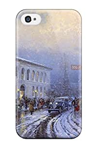 New Design Shatterproof BvXOoHl765tOpqI Case For Iphone 4/4s (winter)
