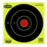 Birchwood Casey Dirty Bird Chartreuse Bull's-Eye Target (Per 50), 8-Inch