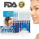 HailiCare Teeth Whitening Kit, White LED, 44% Dental Bleaching System, Tooth Whitener