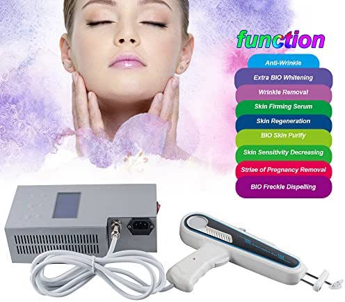 Therapy Rejuvenation Wrinkle Remove Beauty Machine Muscle Device Anti-Wrinkle Wrinkle Removal Pregnancy BIO Whitening Skin Sensitivity Body Slimming Freckle Dispelling Black(Shipping form USA))