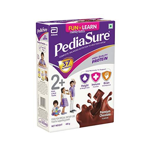 PediaSure Health and Nutrition Drink Powder for Kids Growth - 400g (Premium Chocolate) 3