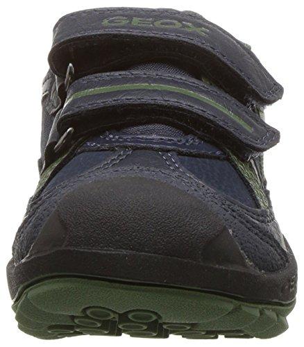 New Basses Savage A J Adulte vert Noir Geox Sneakers Mixte 4q1gn7