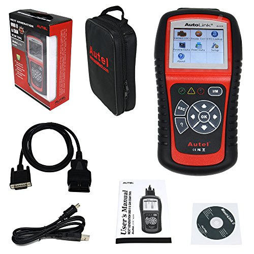 Al519 Scanner Al519 Scan Tool Original Autel Autolink Al519 Obd-ii and CAN Scanner Tool Support Multi-language