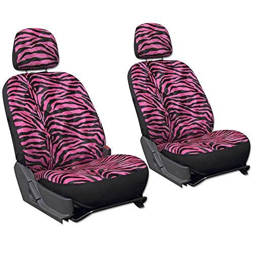OxGord SCVE-Z1B-HP 6pc Set Zebra Animal Print Auto for sale  Delivered anywhere in Canada