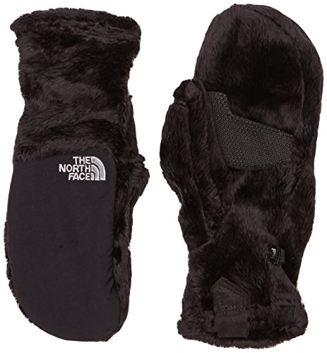 The North Face Women's Denali Thermal Mitt, Black TNF, XS
