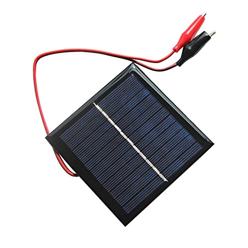 AOSHIKE 5.5V 1W Solar Panel DIY Photovoltaic Solar Cell Car Lamp Light Sun Power sunpower 95x95mm(H) Review