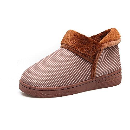 con cotone l'inverno amanti spesso di Casa 38 verde fondo inverno 38 Hui e scarpe pantofole metri in in una solito calda Arredamento di 37 Y 39 di pantofole piena Indoor wT5X7wqY