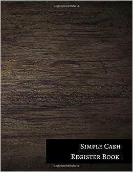 Simple Cash Register Book