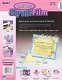 Grafix KSF6-WIJ Printable Shrink Film 8.5X11