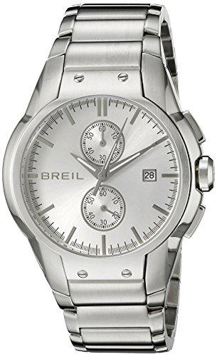 Breil Milano Men's TW0600 Urban Analog Silver Dial Watch
