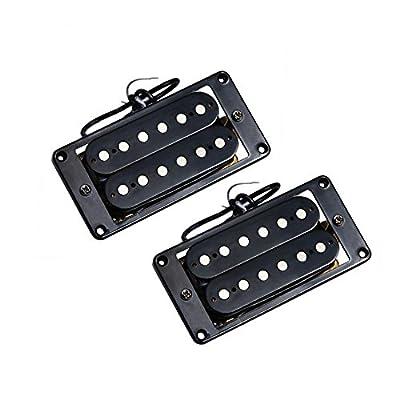 Kmise Zebra Faced Humbucker Double Coil Pickups For Electric Guitar Pickup