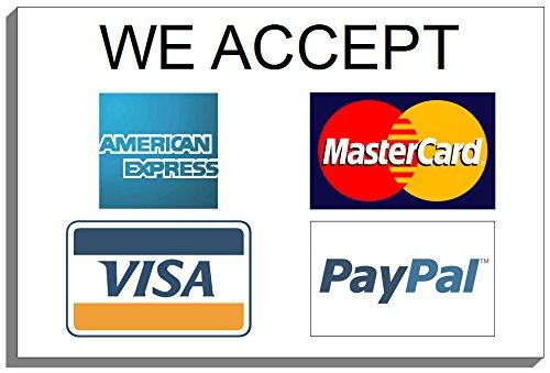 We Accept 5573 - Tarjeta de crédito y tarjeta de crédito para ...